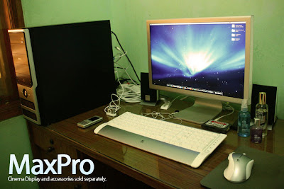 MaxPro and Cinema Display 20