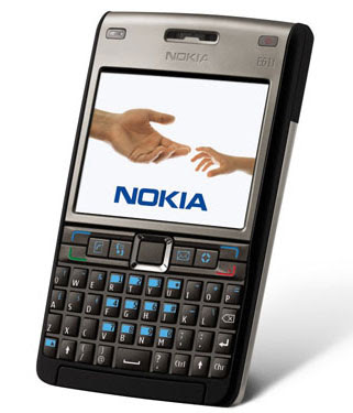 Nokia E61i Titanium Black