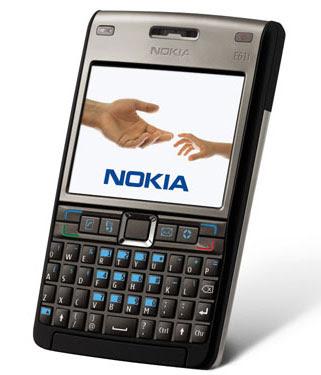 Nokia E61i Titanium Black