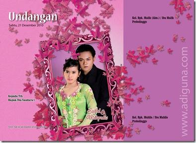 ... mencari-cari template undangan pernikahan gratis versi photoshop