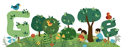 Google Doodle Arbor Day 2013 Brazil
