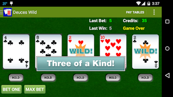 Screenshot of Awesome Video Poker!