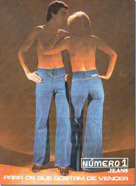 santa nostalgia publicidade jeans numero 1