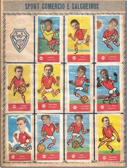 caramelos embaixadores futebol salgueiros