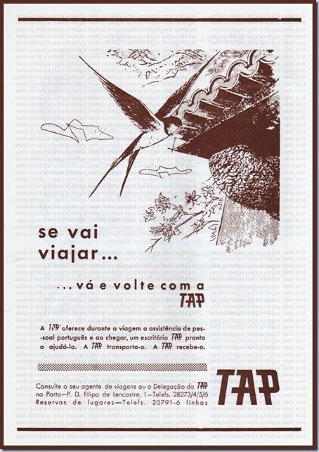 tap publicidade santa nostalgia