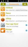 Screenshot of UXF Community