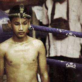Muay Thai 4 by Bim Bom - Sports & Fitness Boxing ( ring, muay thai, thailand, combat, martial art, boxing, fighter, kickboxing )