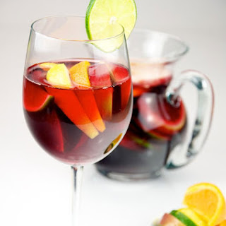 Non-Alcoholic Sangria Fruit Cups recipe – 122 calories