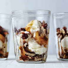 Brown Sugar Banana Parfaits with Maple-Glazed Pecans
