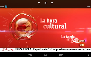 Screenshot of +24 Canal 24H Multipantalla