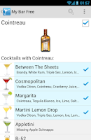 Screenshot of My Cocktail Bar Pro