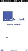 Screenshot of ServisFirst Bank Mobile