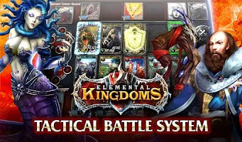 Screenshot of Elemental Kingdoms (CCG)