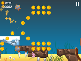 Screenshot of Yellow Submarine runner