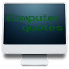 Computer quotes icon