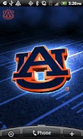 Screenshot of Auburn Revolving Wallpaper
