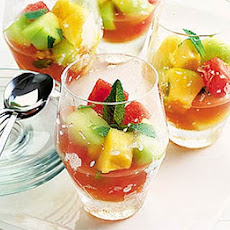 Melon & Campari cooler