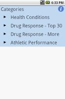 Screenshot of DIYgenomics