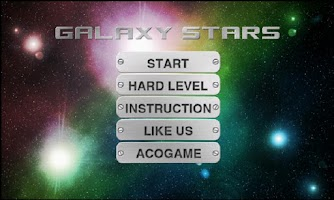 Screenshot of Galaxy Stars One Touch drawing