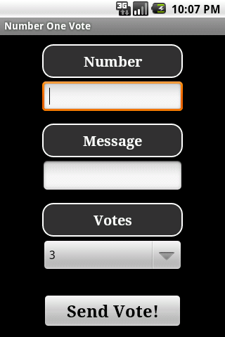 Number One Vote