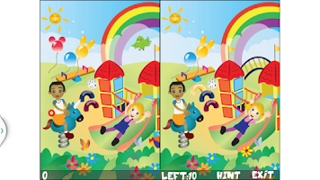 Screenshot of Kids World Of Spot Difference