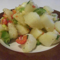 Warm Potato Salad With Italian Dressing