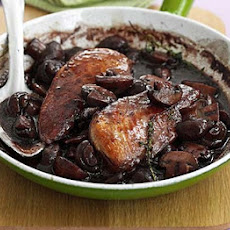 Chicken With Wine & Mushrooms