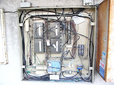 電話線 telephone lines 電話 NTT líneas teléfono instalación installation