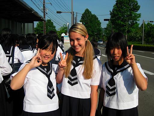 【金髪】国内在住白人女子中高生【留学生】->画像>79枚