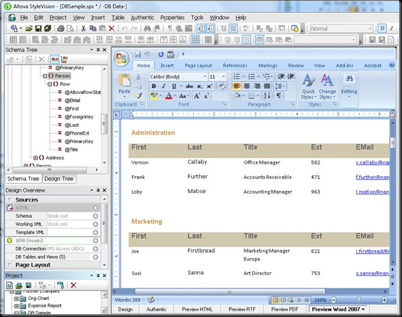 OpenXMLpreview
