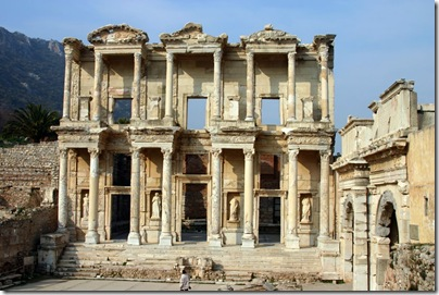 The Celsus library.