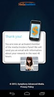 Screenshot of Media Insiders Mobile