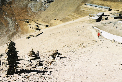 High Camp. The new Camp are the bulidings on the right side of the photo