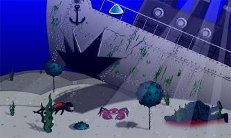 Screenshot of Stickman Underwater Death