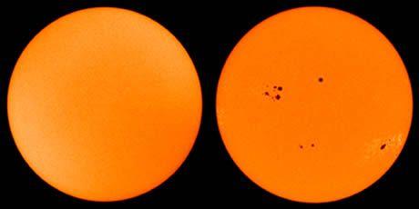 Minimum ve Maksimum evrelerinde Güneş