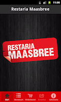 Screenshot of Restaria Maasbree BestelApp