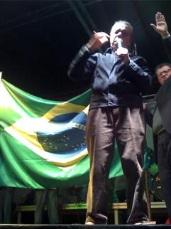 Pastor Edison Queiroz no evento em Santo André