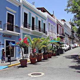 Puerto Rico - San Juan by João Pedro Loureiro - City,  Street & Park  Street Scenes