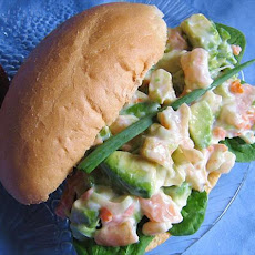 Shrimp Avocado Hoagies