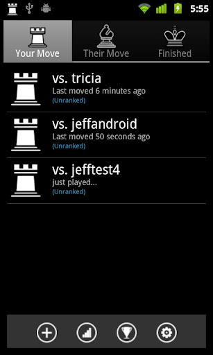 Chess By Post - screenshot