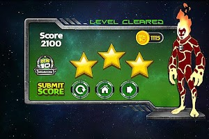 Screenshot of Ben 10 Galactic Getaway
