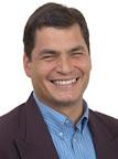 Foto de Rafael Correa (Wikipedia)