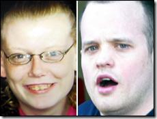 Laura Milne (left) and her murderer Stuart Jack