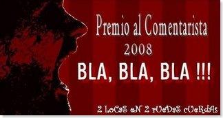 Premio al Comentarista 2008