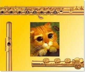 Flautista de oro