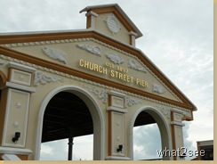 Tanjung City Mirina and Church Street Pier main enterance