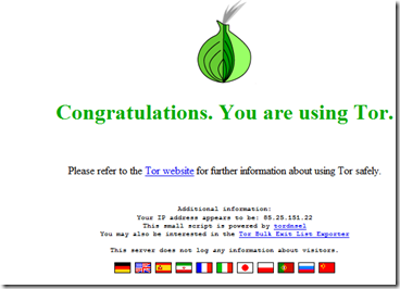 Proxy Tor
