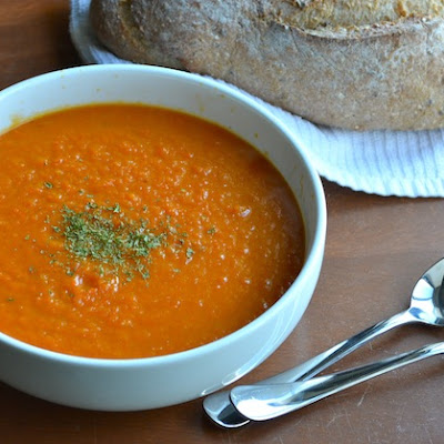 CARROT & ORANGE SOUP