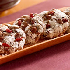 Ghirardelli's® Chocolate Anise Cookies with Dried Cherries