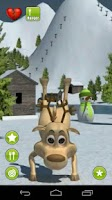 Screenshot of Talking Prancer Reindeer